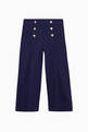 thumbnail of High-Waist Buttoned Culottes    #0