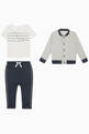 thumbnail of BB Bomber Jacket, Top & Pant Set  #1