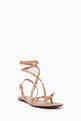 thumbnail of Valentino Garavani Rockstud Flair Nappa Sandals   #2