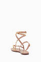 thumbnail of Valentino Garavani Rockstud Flair Nappa Sandals   #3