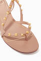 thumbnail of Valentino Garavani Rockstud Flair Nappa Sandals   #5