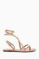 thumbnail of Valentino Garavani Rockstud Flair Nappa Sandals   #0