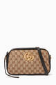 thumbnail of Small GG Marmont Canvas Shoulder Bag #0