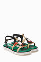 thumbnail of Tucano Patch T-Strap Sandals #0