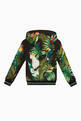 thumbnail of Jungle Print Hooded Sweatshirt #2