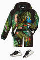 thumbnail of Jungle Print Hooded Sweatshirt #1
