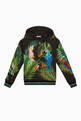 thumbnail of Jungle Print Hooded Sweatshirt #0