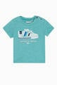 thumbnail of Embroidered Sneaker Print T-Shirt   #0