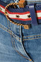 thumbnail of Belted Denim Cropped Jeans      #3