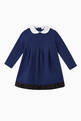 thumbnail of Logo Band Fleece Jersey Dress      #0