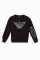 thumbnail of EA Macro Eagle Jersey Sweatshirt      #0