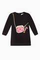 thumbnail of EA Bag Print Jersey Sweatshirt Dress     #0