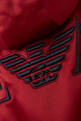 thumbnail of Eagle Logo Poly Satin Puffer Vest   #3
