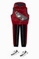thumbnail of Eagle Logo Poly Satin Puffer Vest   #1