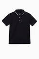 thumbnail of Eagle Logo Knit Polo Shirt   #0