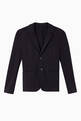 thumbnail of Single Breasted Jersey Blazer Jacket      #0