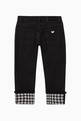 thumbnail of Houndstooth Denim Jeans     #2