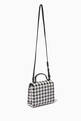 thumbnail of Houndstooth Crossbody Bag in Eco Leather #1