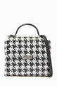 thumbnail of Houndstooth Crossbody Bag in Eco Leather #0