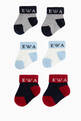 thumbnail of EA Colour Block Socks, Set of 3     #1