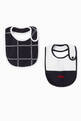 thumbnail of EA Cotton Bibs, Set of 2   #0