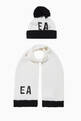 thumbnail of EA Sequin Beanie Hat & Scarf Set     #0