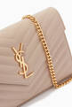 thumbnail of Monogram Chain Wallet in Grain de Poudre Embossed Leather          #5