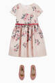 thumbnail of Belted Floral Dress    #1