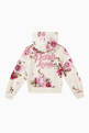 thumbnail of Floral Print Cotton Hoodie    #2