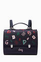 thumbnail of DG Satchel Bag in Nylon    #0