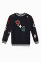 thumbnail of Logo Patch Jersey Sweatshirt     #0