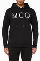 thumbnail of MCQ Cotton Jersey Hooded Sweatshirt   #0
