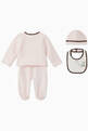 thumbnail of Logo Band Sleepsuit Set        #1