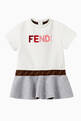 thumbnail of Logo FF Band Cotton T-Shirt Dress      #0
