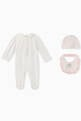 thumbnail of FENDI Teddy Bear Jersey Playsuit Set #1