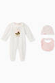thumbnail of FENDI Teddy Bear Jersey Playsuit Set #0