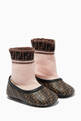 thumbnail of Sock Ballerina Shoes in Leather     #0