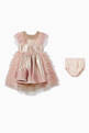 thumbnail of Ombré Tulle Ruffled Dress  #1