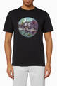 thumbnail of Floral Circle Logo Cotton T-Shirt #0