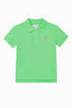 thumbnail of Logo Cotton Mesh Polo T-Shirt    #0