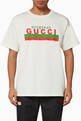 thumbnail of تي شيرت فضفاض بطبعة Original Gucci #0