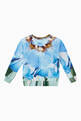 thumbnail of Marina Petals Organic Cotton Sweatshirt    #2