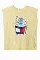 thumbnail of Cotton Milkshake Print T-Shirt #0