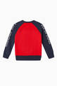 thumbnail of Colour-Block Logo Crewneck Sweatshirt #2