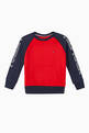 thumbnail of Colour-Block Logo Crewneck Sweatshirt #0