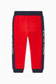 thumbnail of Colour-Block Logo Print Sweatpants   #2