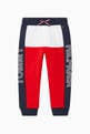 thumbnail of Colour-Block Logo Print Sweatpants   #0