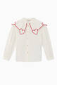 thumbnail of Embroidered Cotton Poplin Top  #0