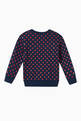 thumbnail of Gucci Polka Dot Print Cotton Sweatshirt     #2