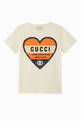 thumbnail of Heart Print Jersey T-Shirt     #0